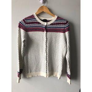 Vintage Talbots Petite Lambswool Cardigan